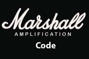 Marshall Code Guitar Amplifier Covers